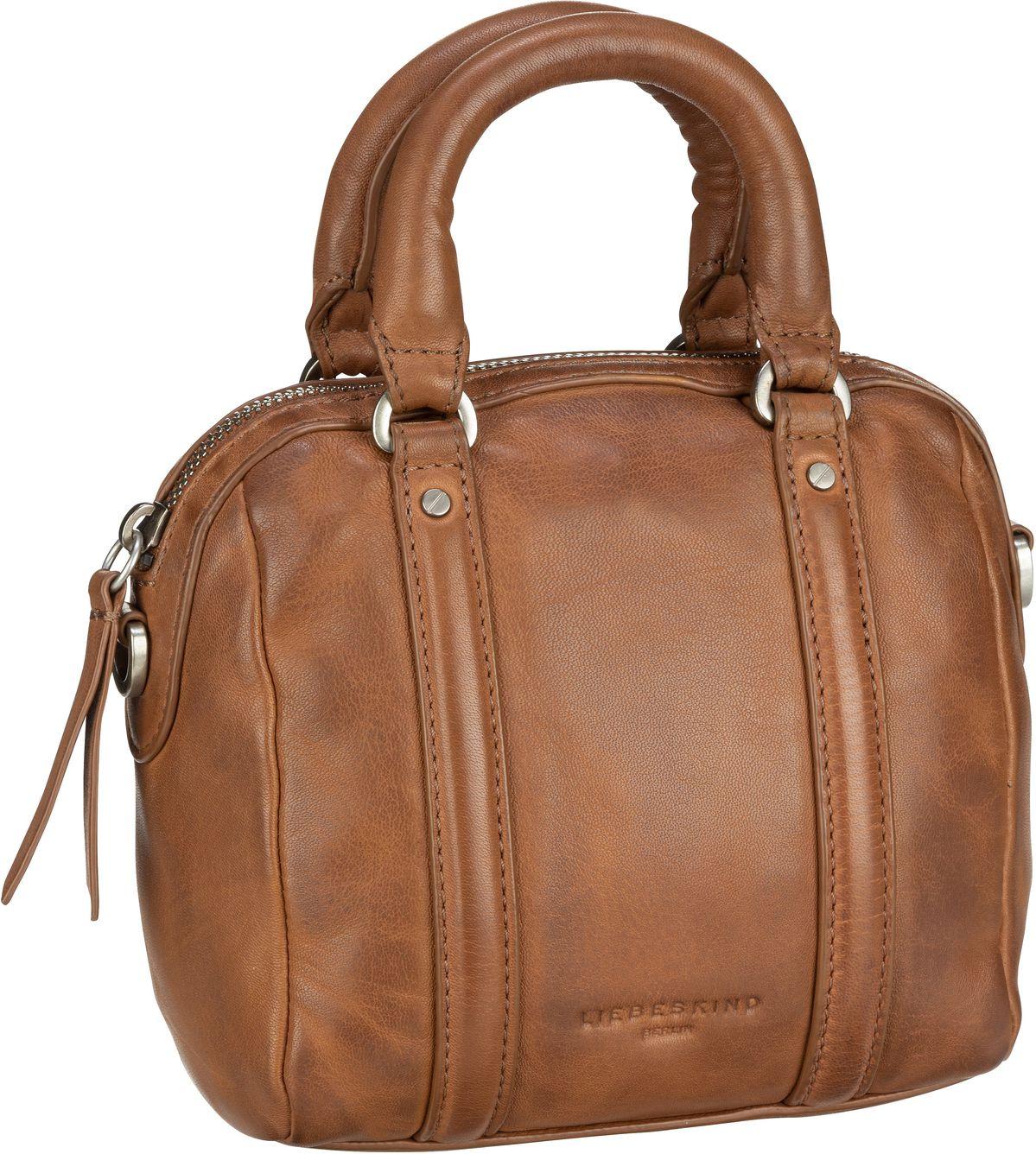 Berlin Handtasche Oak Bowling Bag XS Caramel