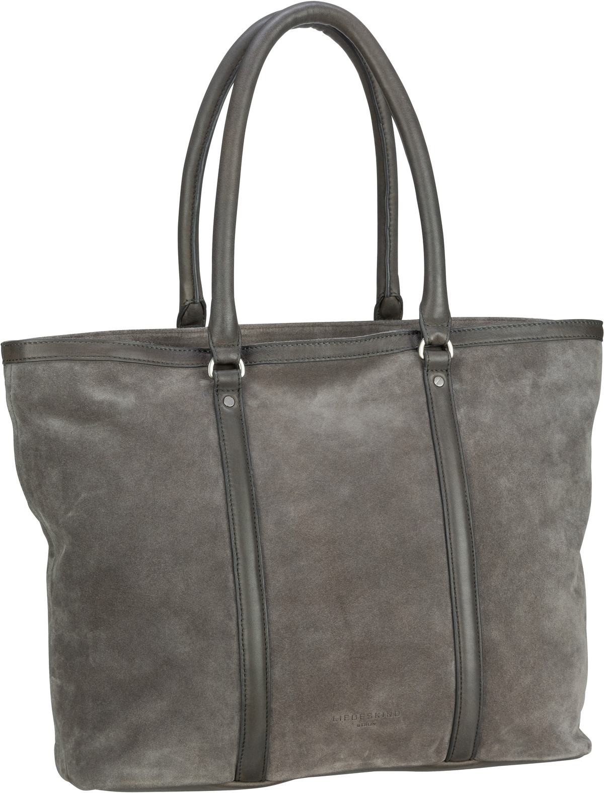 Berlin Shopper Oak Shopper L Suede Gun Grey