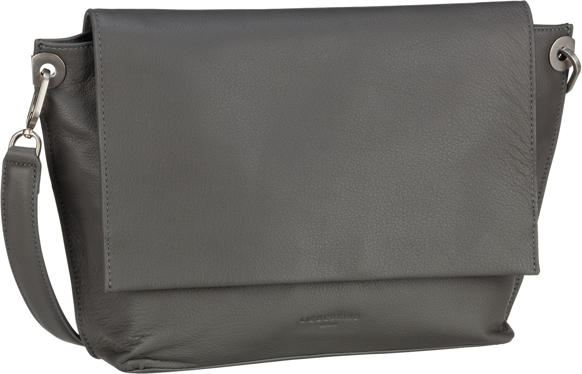 Berlin Umhängetasche Quince Messenger Bag M Gun Grey