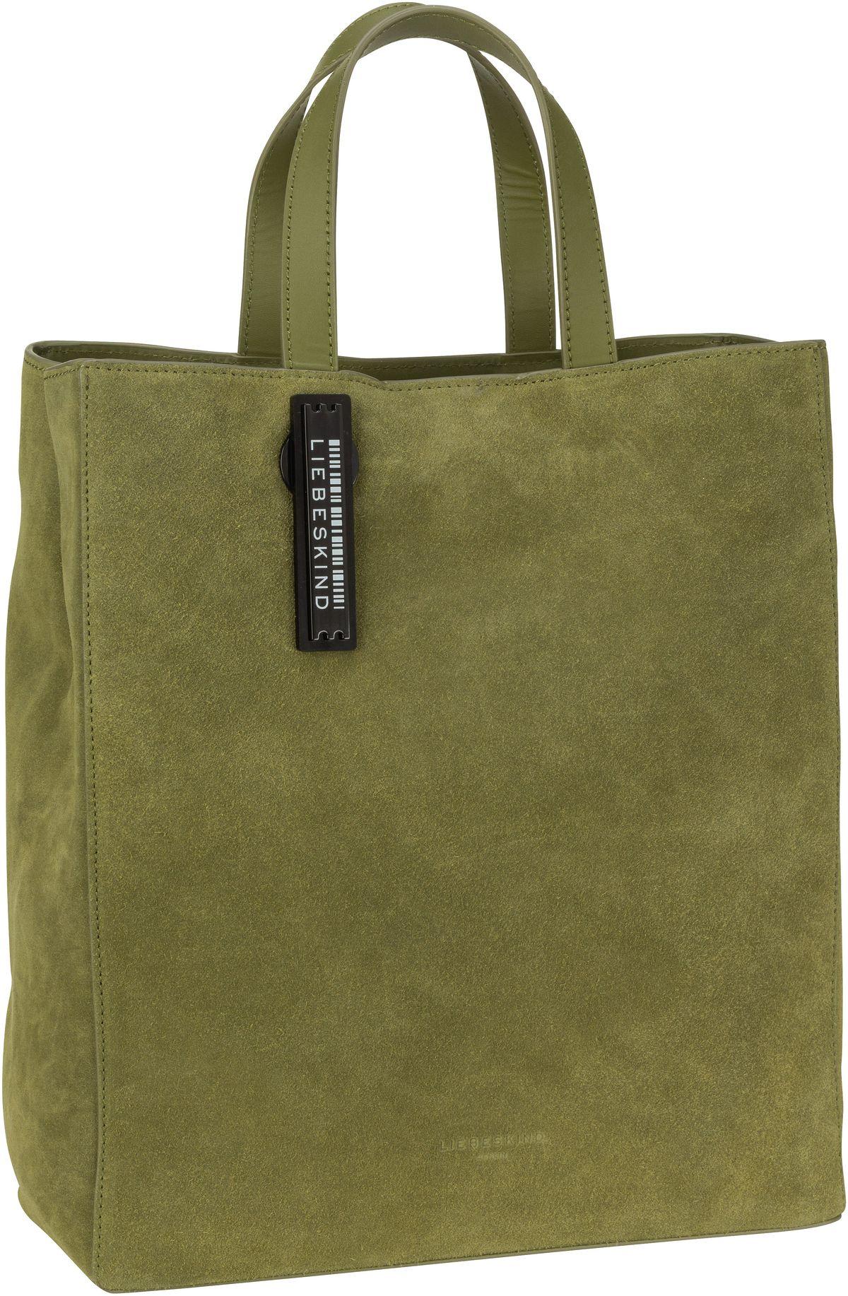 Berlin Shopper Paper Bag M Suede Moss