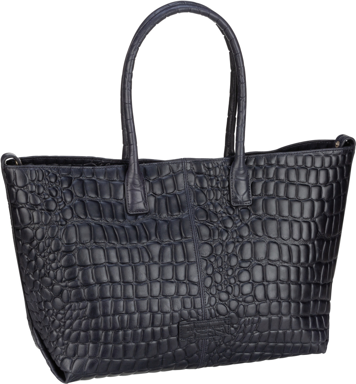 Berlin Handtasche Malibu 2 Chelsea Shopper M Croco Midnight Sky