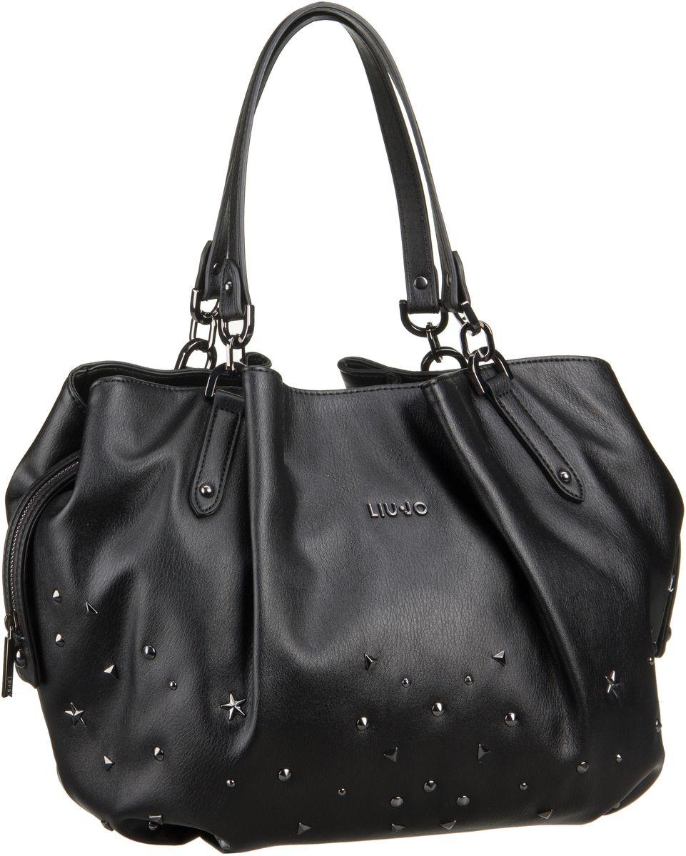 Liu Jo Perle Shopping Nero - Handtasche