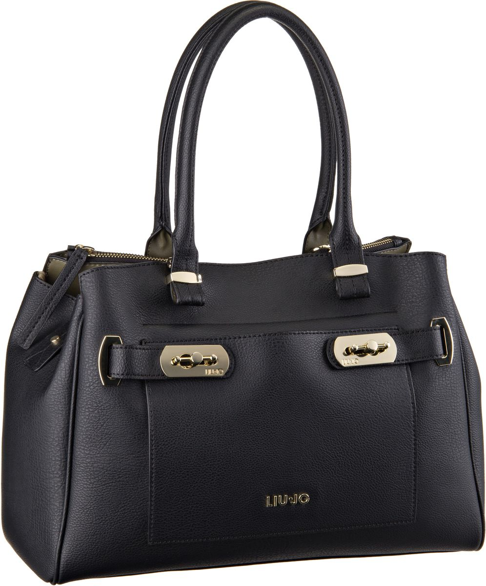 Liu Jo Ninfea Shopping L Black/Stone Grey - Han...