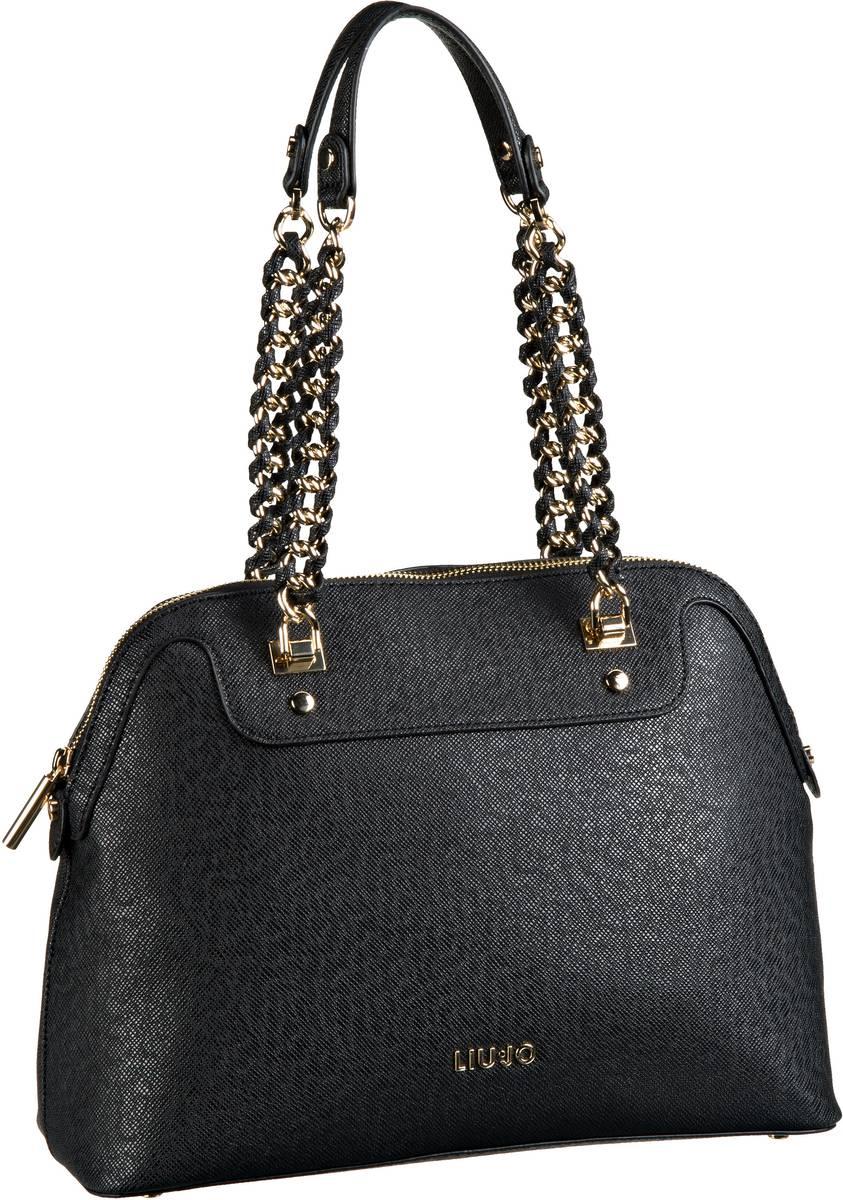 Liu Jo Anna Chain Shopping M Nero - Handtasche