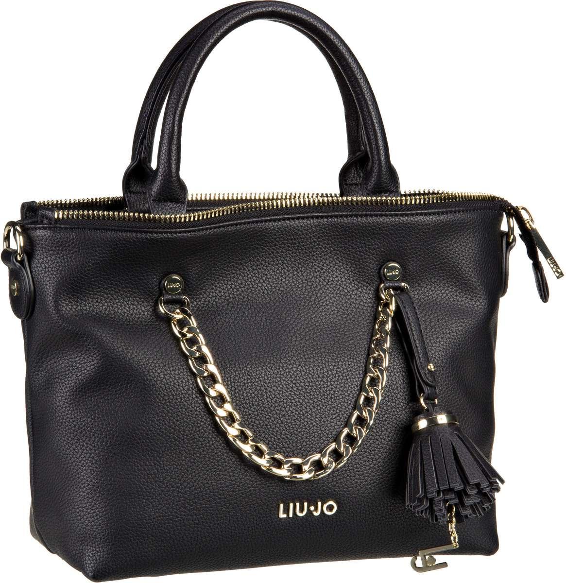 Liu Jo Poppa Shopping S Nero - Handtasche