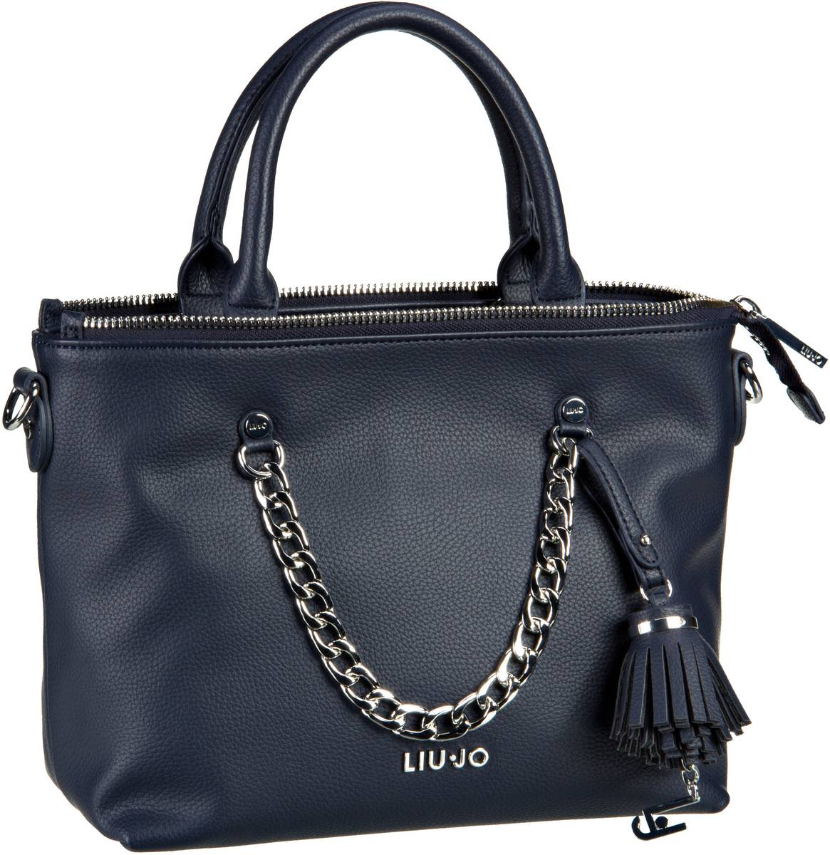 Liu Jo Poppa Shopping S Night Blu Sky - Handtasche