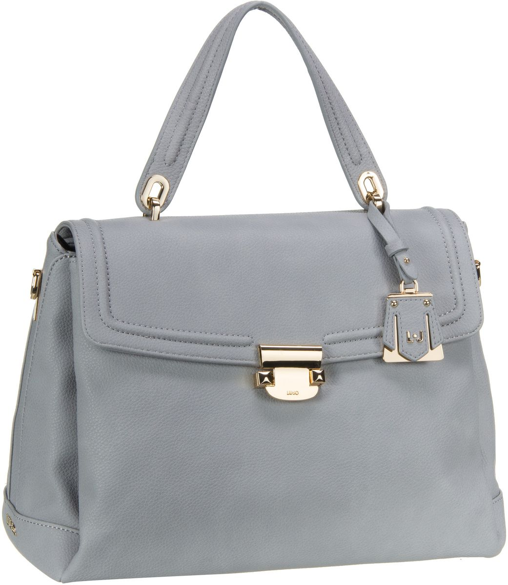 Handtasche Long Island Top Handle M Inox