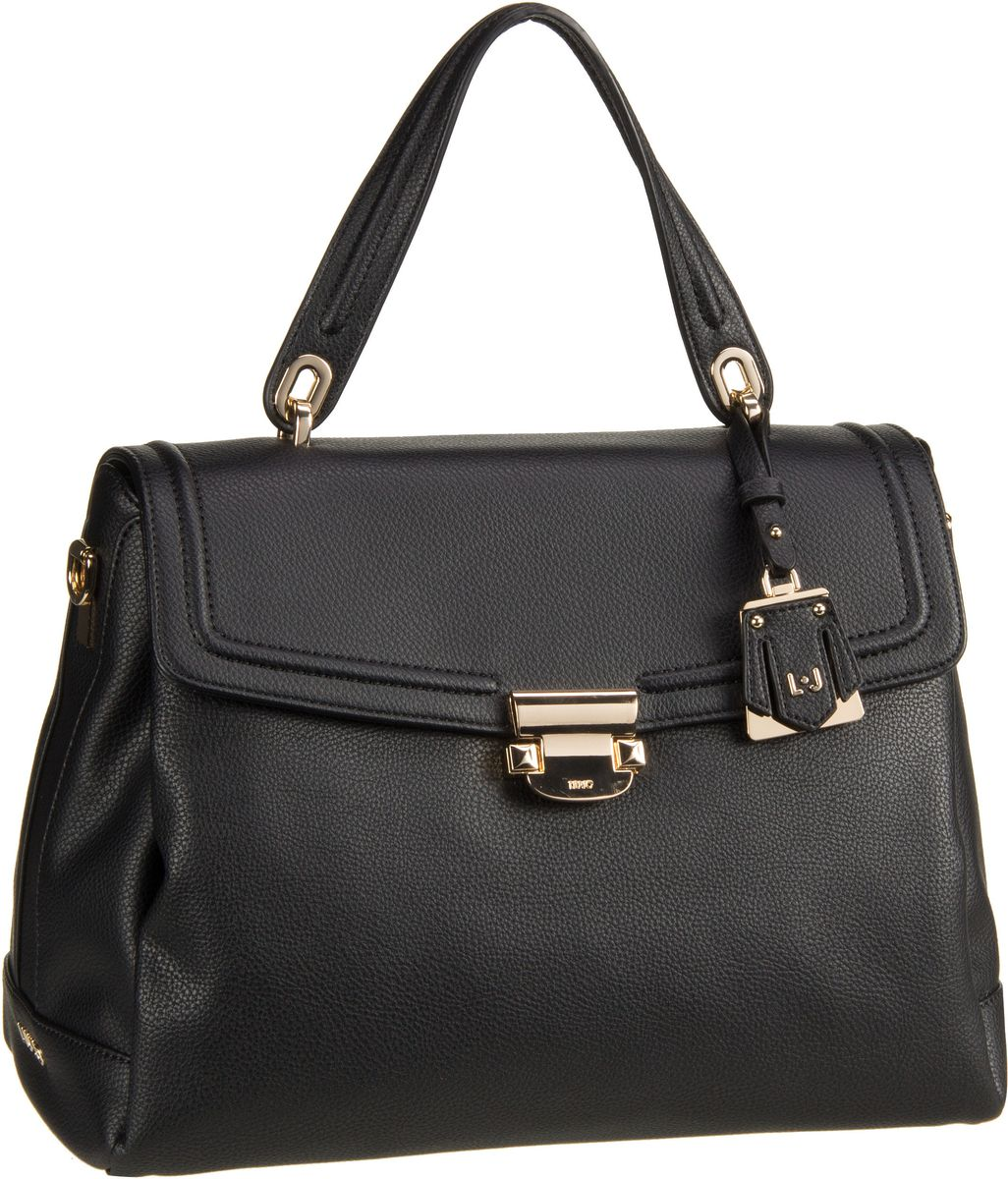 Handtasche Long Island Top Handle M Nero