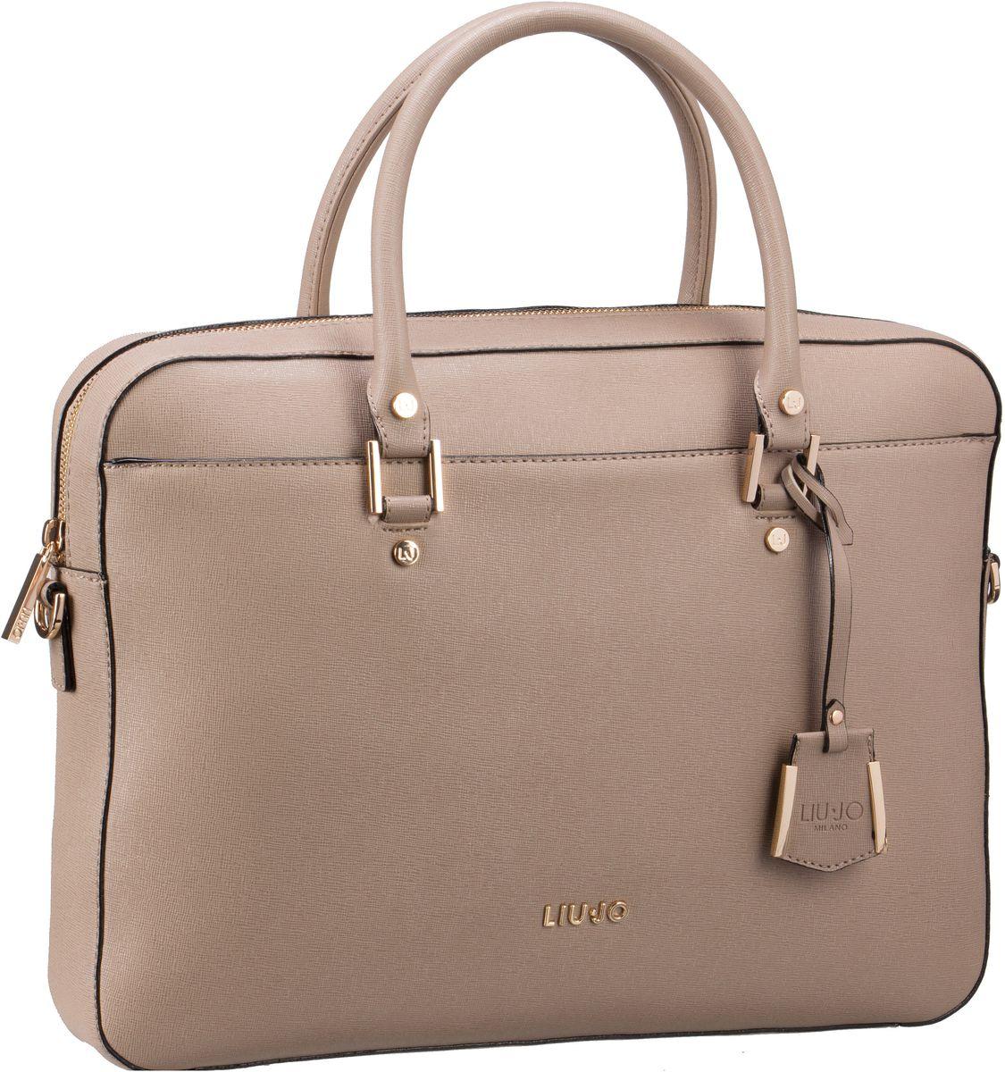 Handtaschen für Frauen - Liu Jo Handtasche Isola Briefcase L Arenaria  - Onlineshop Taschenkaufhaus