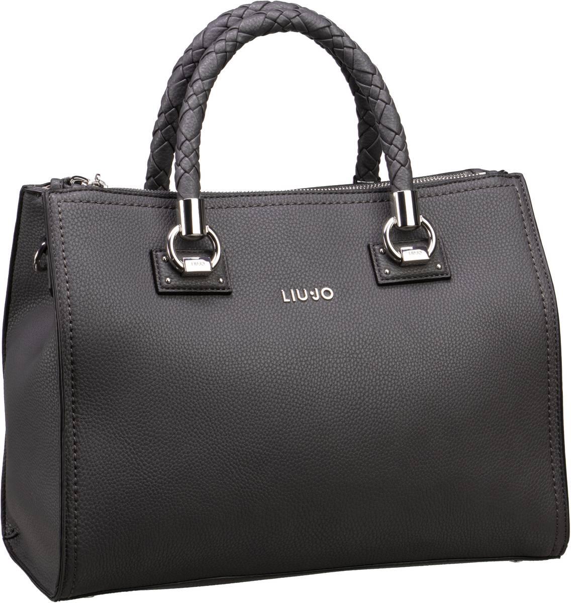 Handtaschen für Frauen - Liu Jo Handtasche Manhattan Satchel Zip M Grape Juice  - Onlineshop Taschenkaufhaus