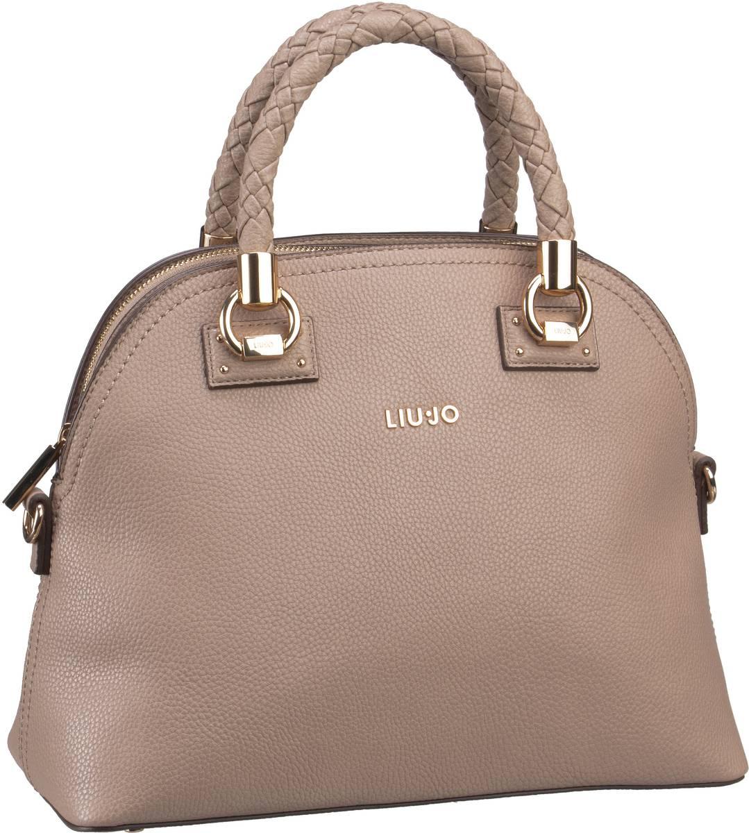 Handtaschen für Frauen - Liu Jo Handtasche Manhattan Satchel M Arenaria  - Onlineshop Taschenkaufhaus