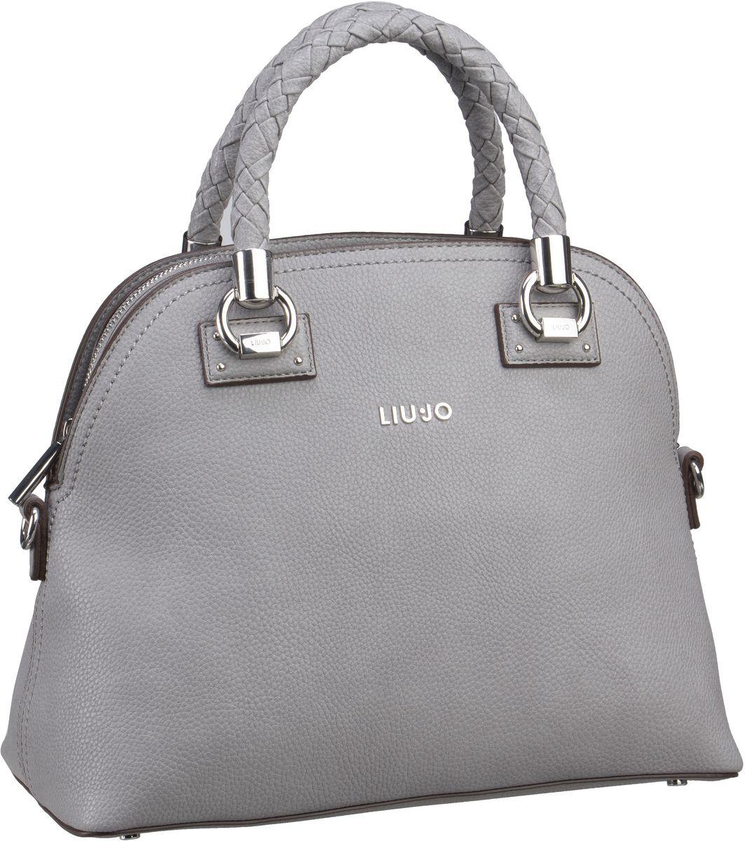 Handtaschen für Frauen - Liu Jo Handtasche Manhattan Satchel M Frozen  - Onlineshop Taschenkaufhaus