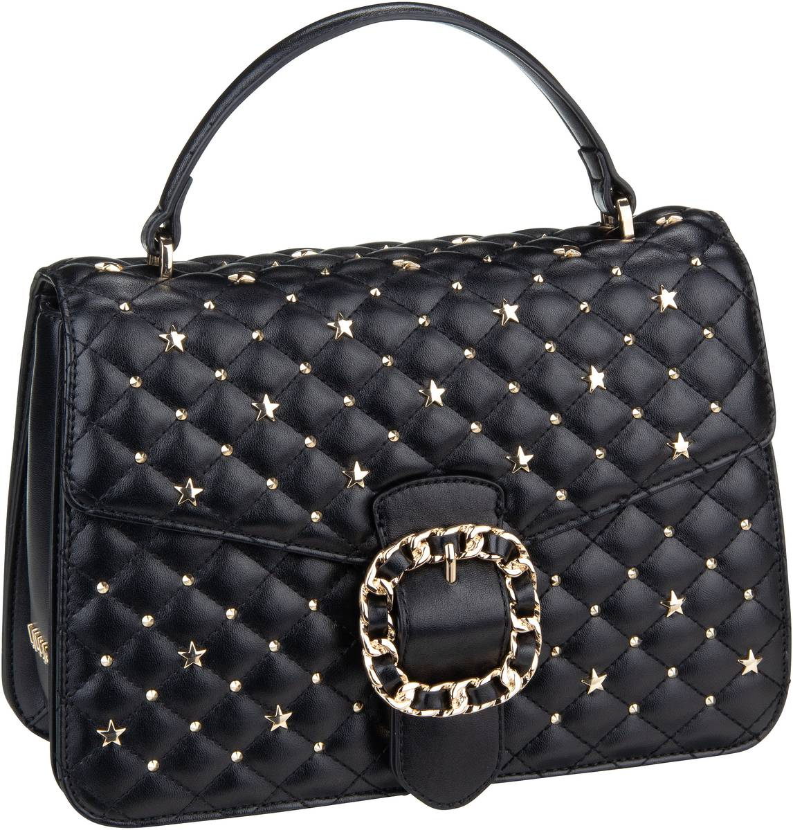 Handtasche Tiberina Top Handle M Nero