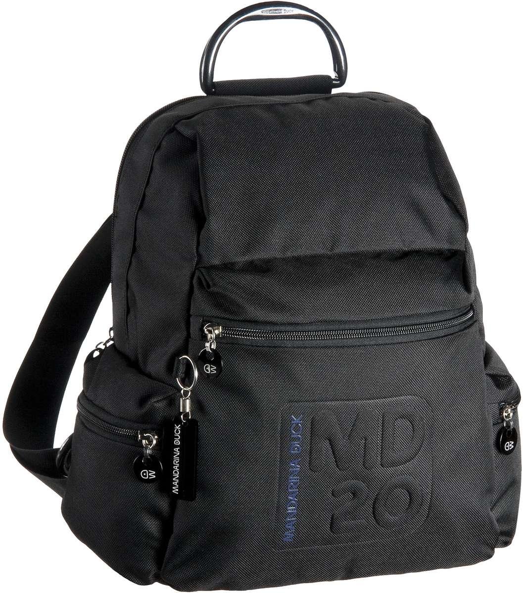 Rucksaecke für Frauen - Mandarina Duck Rucksack Daypack MD20 Backpack Black  - Onlineshop Taschenkaufhaus