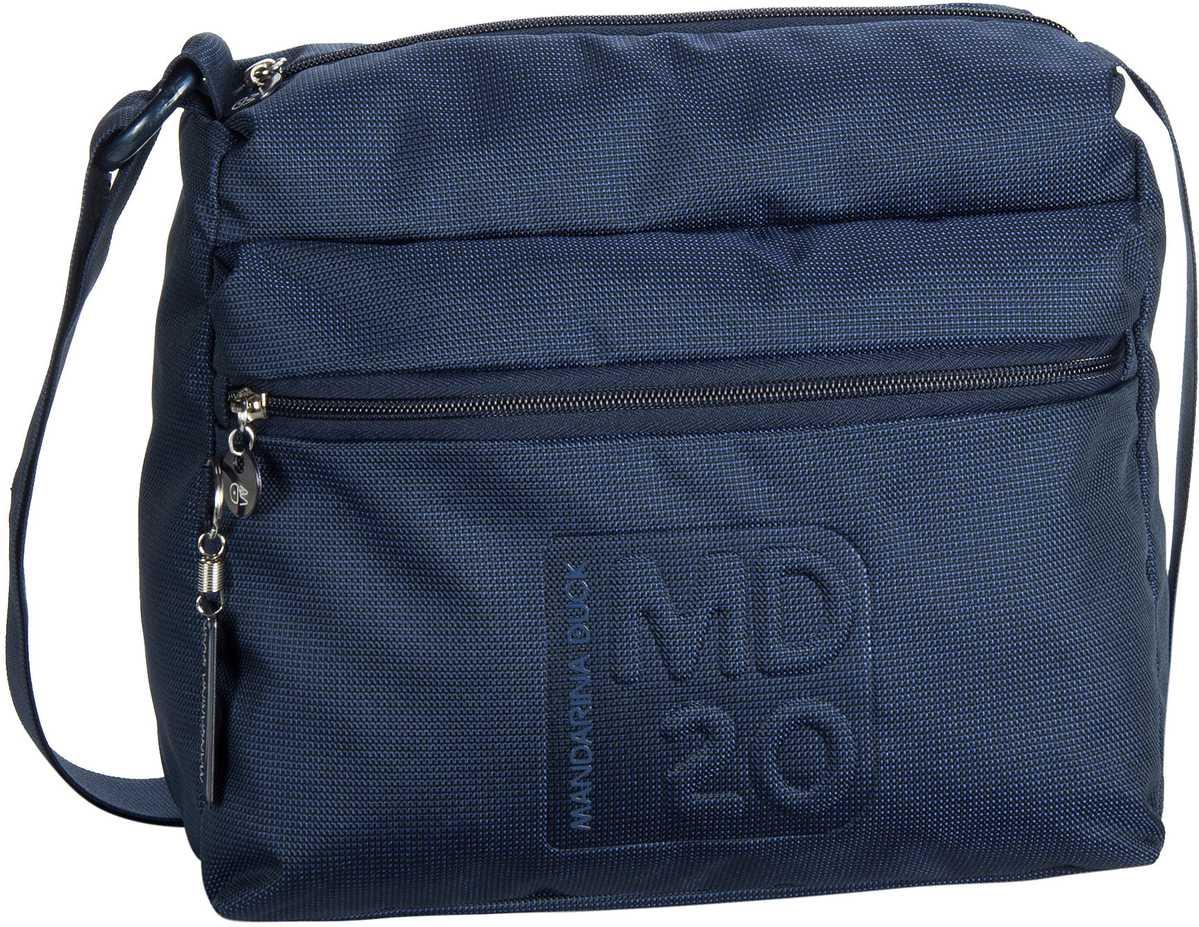Mandarina Duck MD20 City Bag Dress Blue - Umhängetasche
