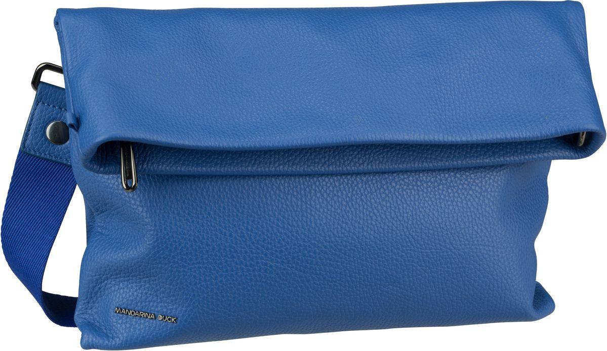 Umhängetasche Mellow Leather Schultertasche Colony Blue (innen: Grau)