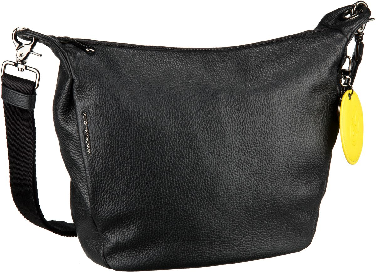 Umhängetasche Mellow Leather Crossbody Black (innen: Schwarz)