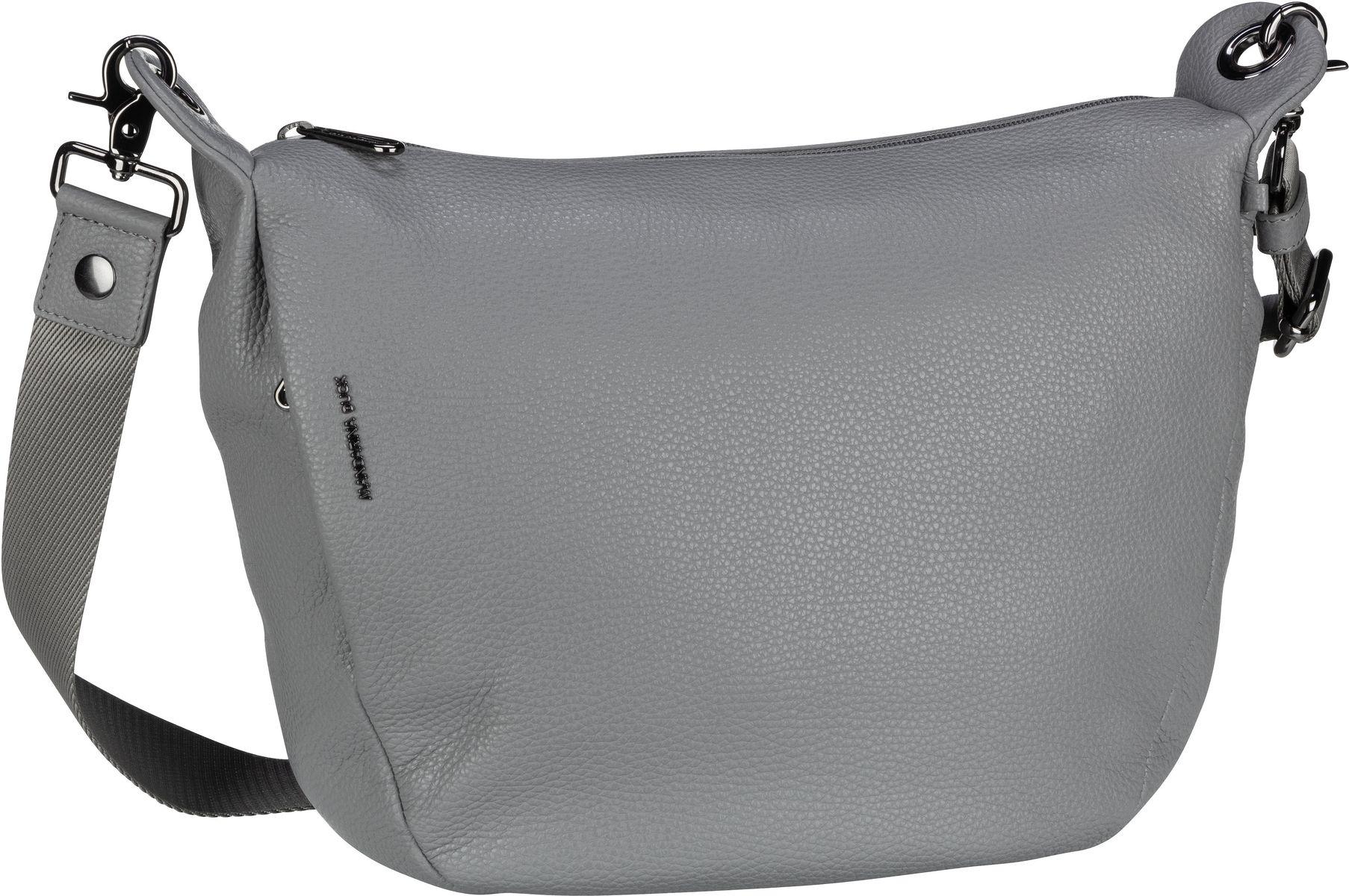 Umhängetasche Mellow Leather Crossbody Aluminium