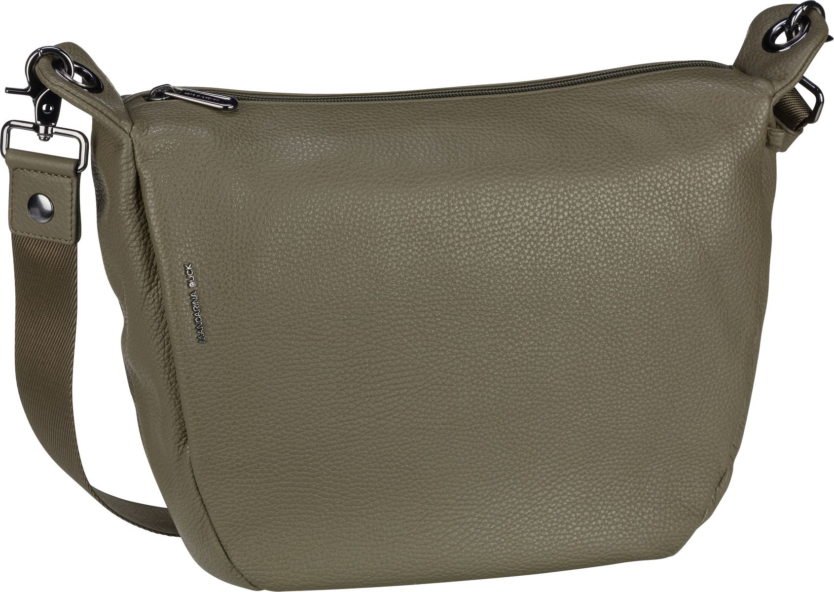 Umhängetasche Mellow Leather Crossbody Military Olive