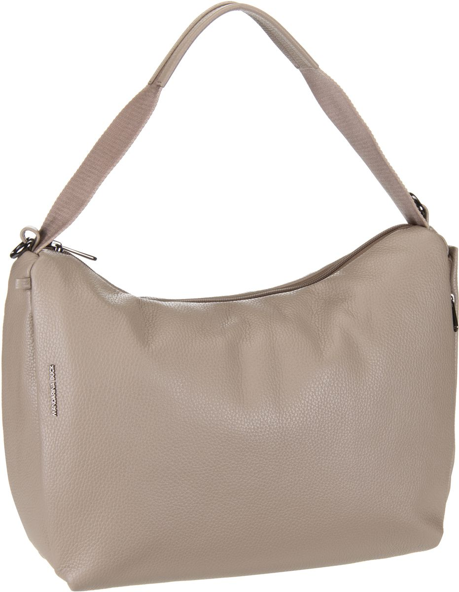 Mandarina Duck Mellow Leather Handtasche Simply Taupe -