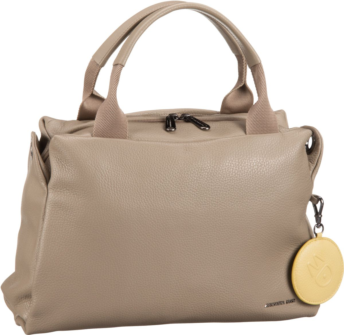 Handtasche Mellow Leather Boston Bag T87 Simply Taupe