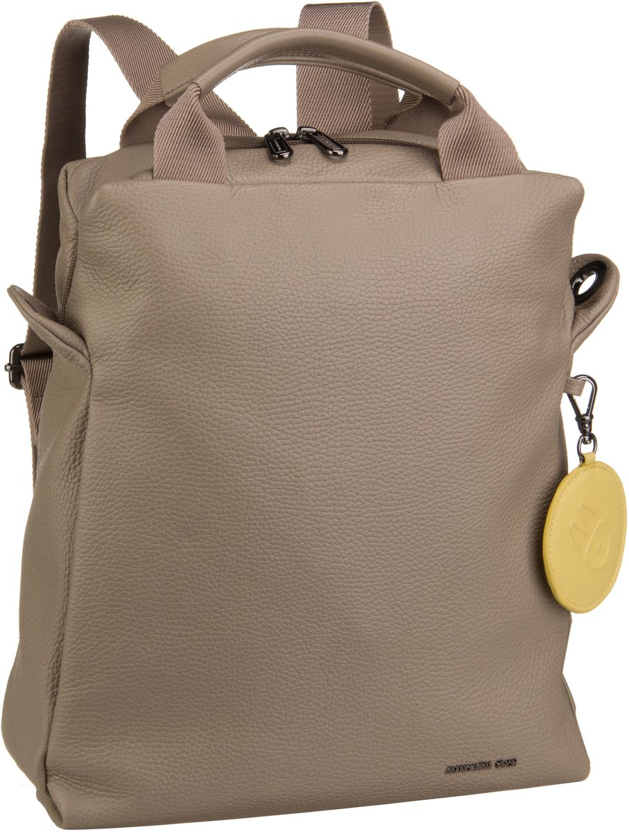 Rucksack / Daypack Mellow Leather Medium Backpack T91 Simply Taupe