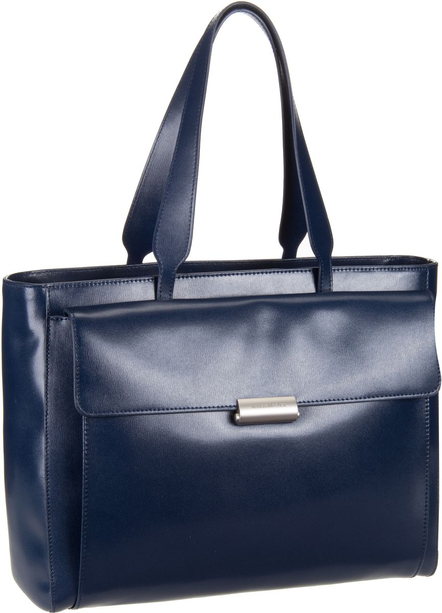 Mandarina Duck Hera 3.0 Shopper RAT02 Dress Blue Aktentasche