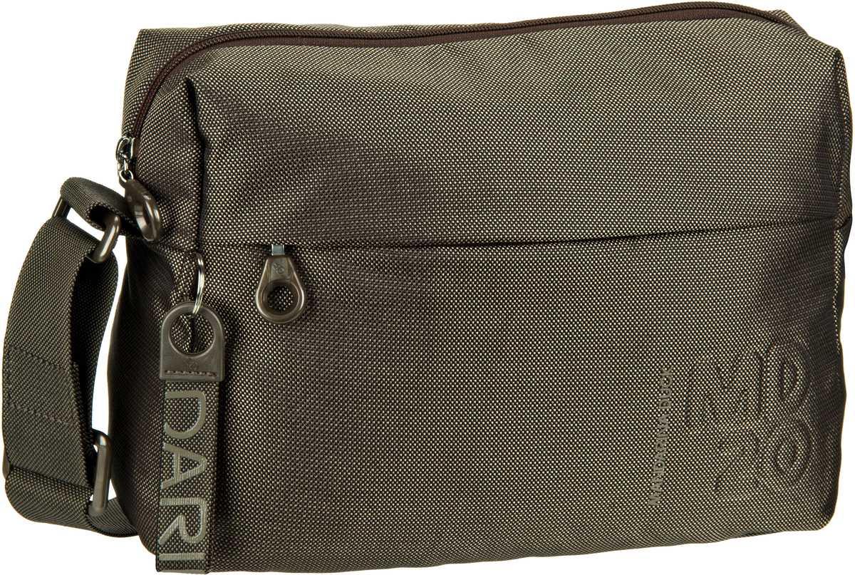 Schultertaschen für Frauen - Mandarina Duck Umhängetasche MD20 Crossover Bag QMTV8 Pirite  - Onlineshop Taschenkaufhaus
