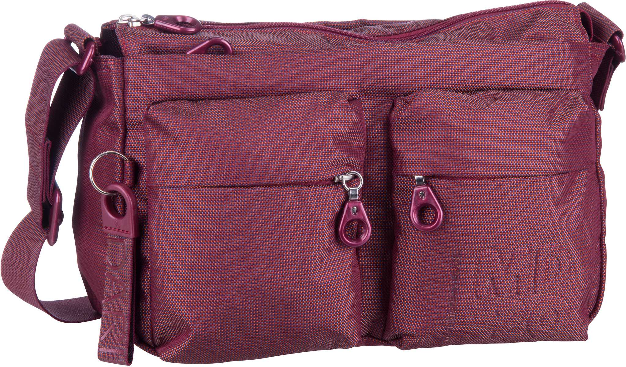 Umhängetasche MD20 Crossover Bag QMTX5 Cabernet