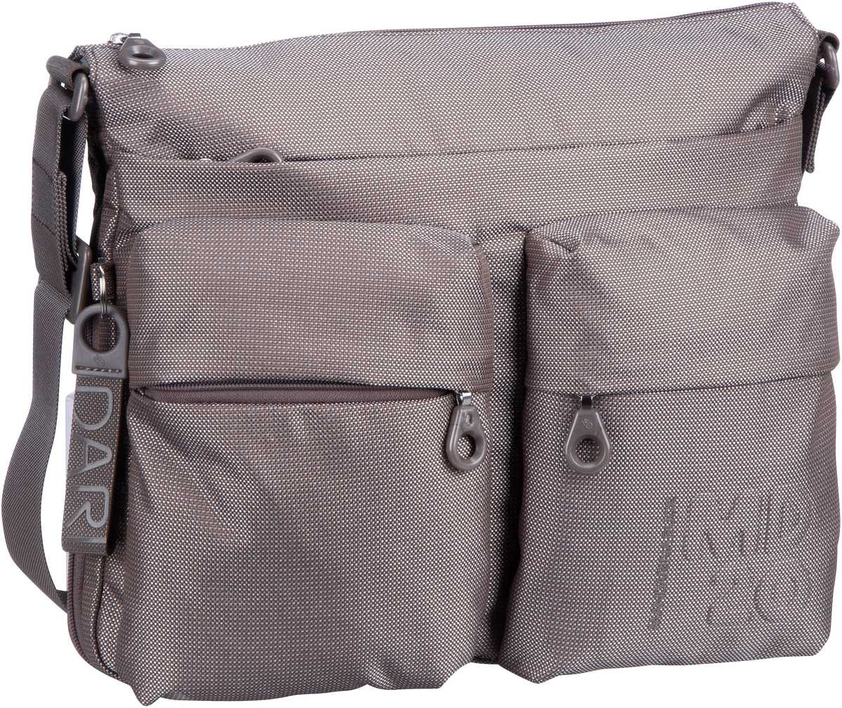 Umhängetasche MD20 Big Crossover Bag QMTX6 Taupe