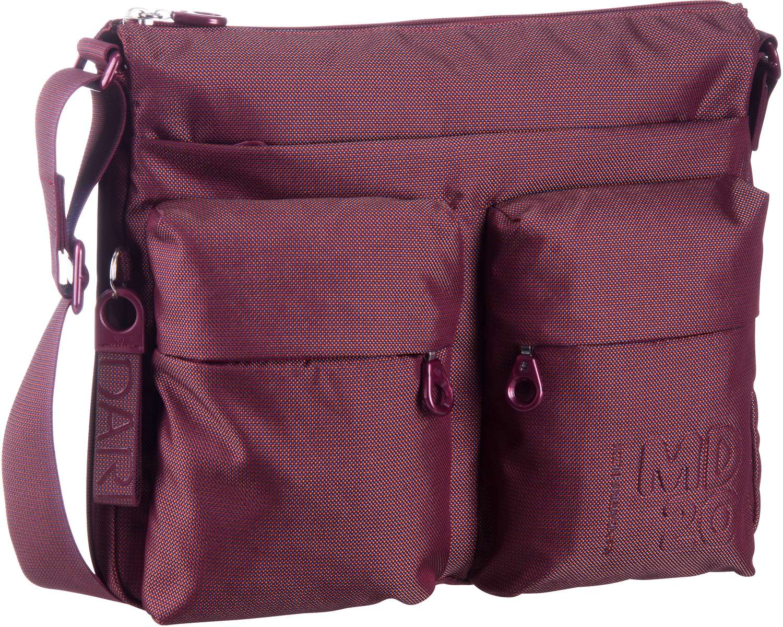 Umhängetasche MD20 Big Crossover Bag QMTX6 Cabernet