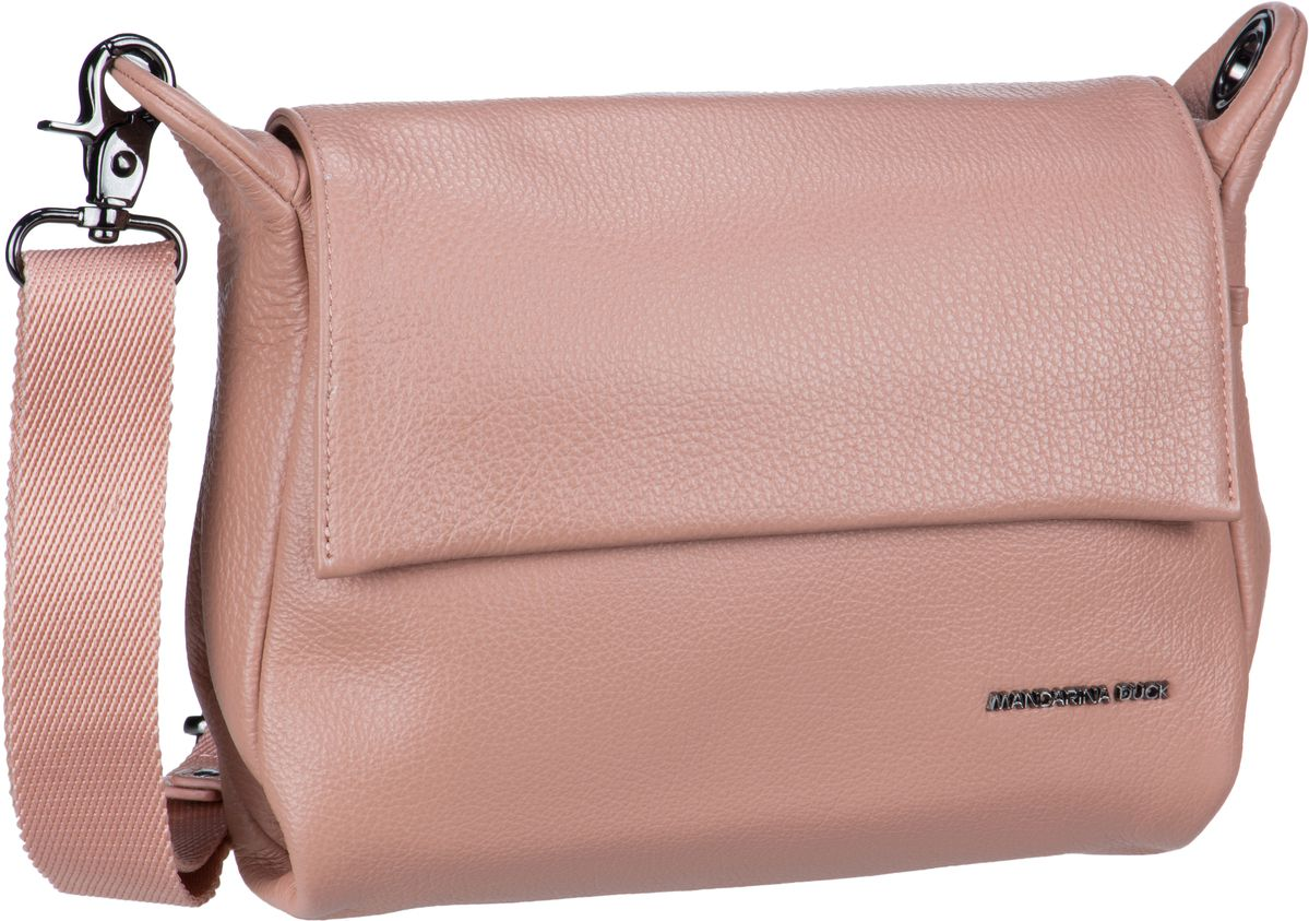 Umhängetasche Mellow Leather Crossover Bag FZT93 Dusty Rose