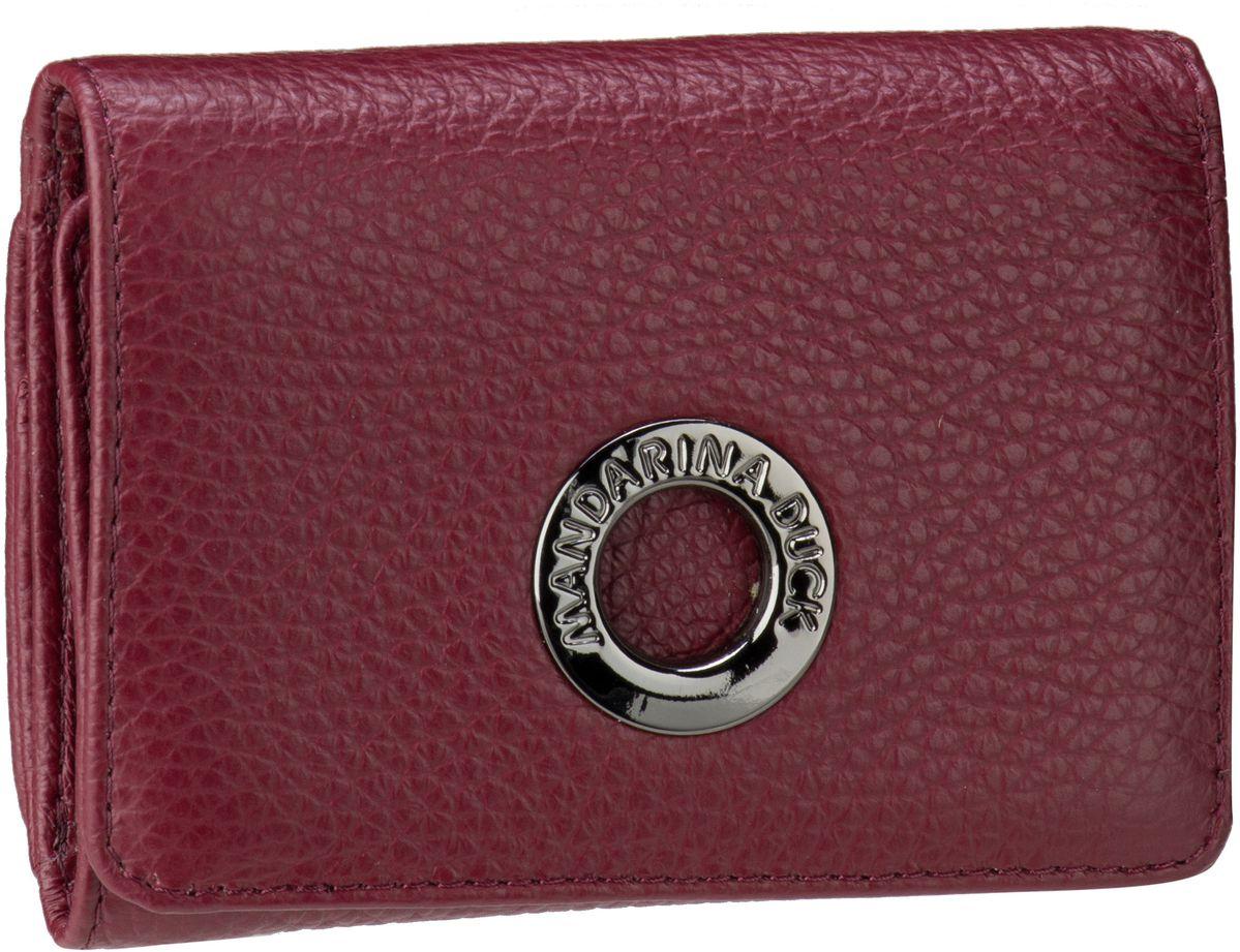 Mandarina Duck Mellow Leather Wallet FZP56 Cordovan - Geldbörse