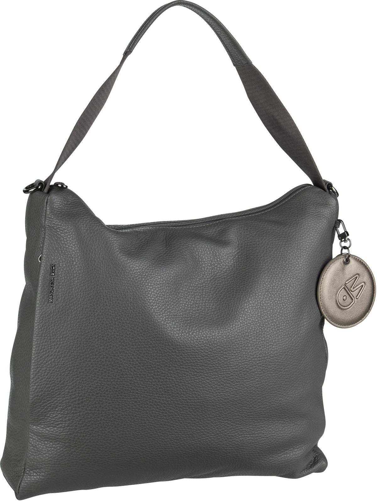 Handtasche Mellow Leather Medium Hobo FZT95 Smoked Pearl