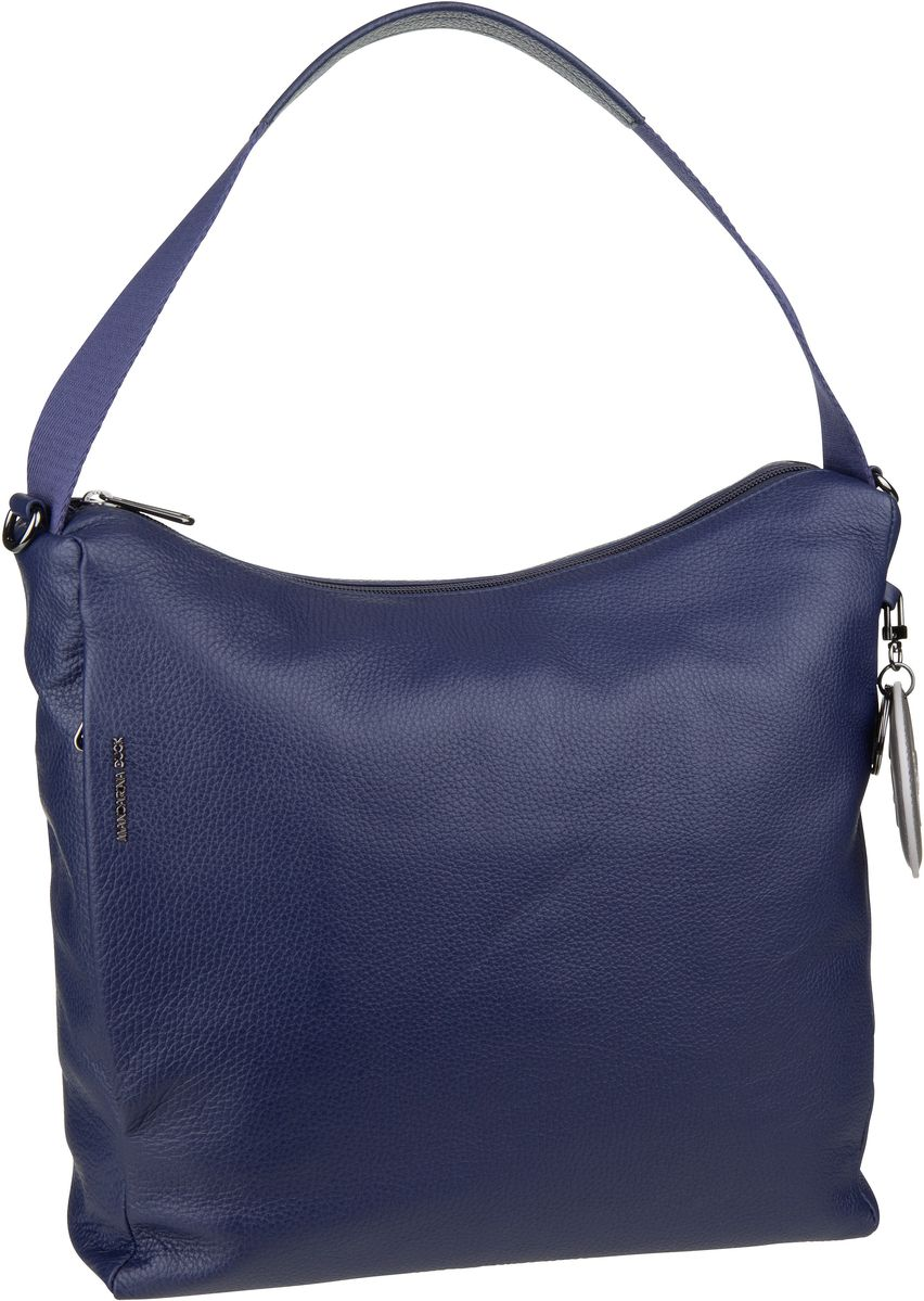Handtasche Mellow Leather Medium Hobo FZT95 Dress Blue