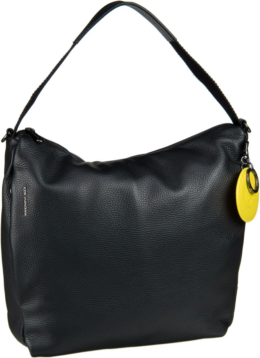 Handtasche Mellow Leather Medium Hobo FZT95 Nero