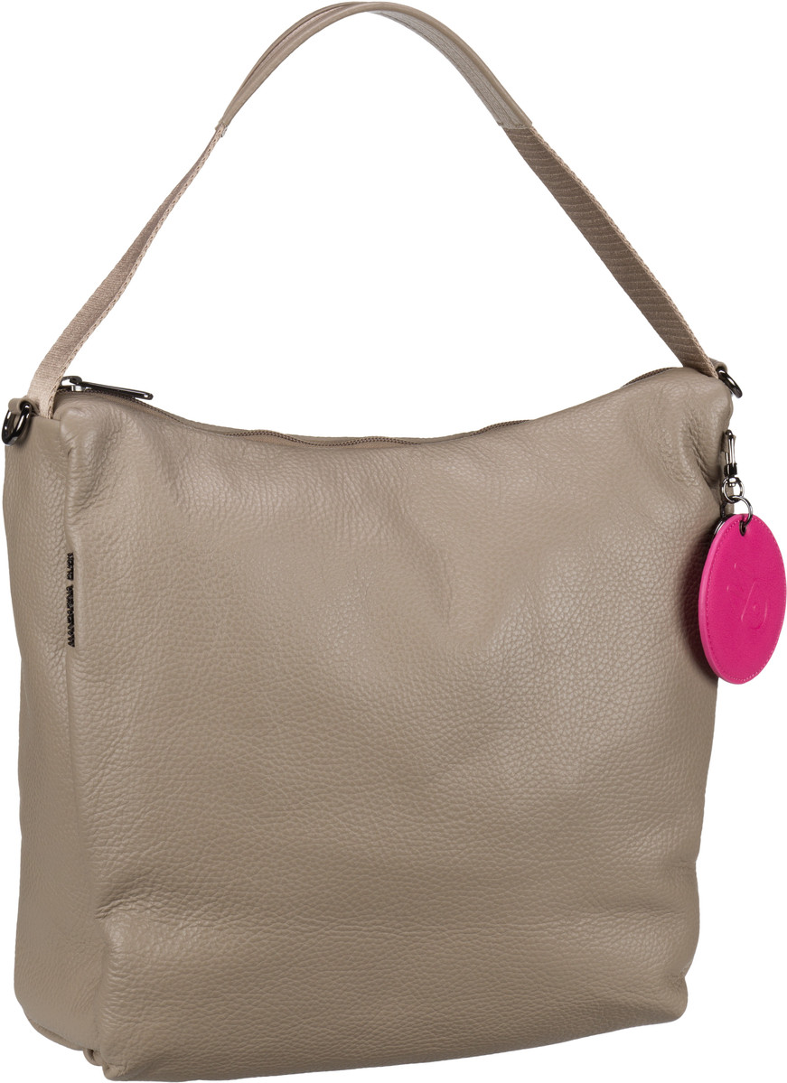 Handtasche Mellow Leather Medium Hobo FZT95 Simply Taupe
