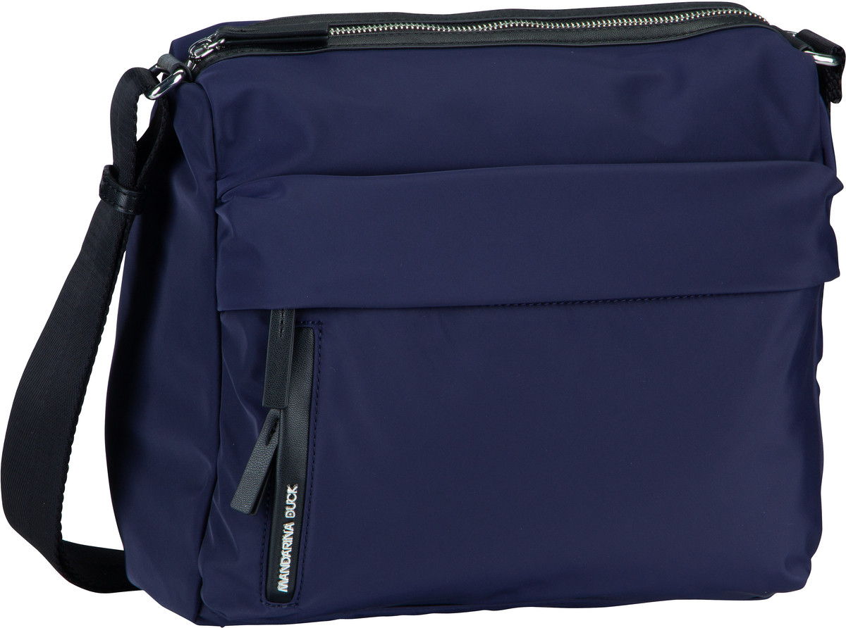 Schultertaschen für Frauen - Mandarina Duck Umhängetasche Hunter Medium Crossover LIT17 Eclipse  - Onlineshop Taschenkaufhaus