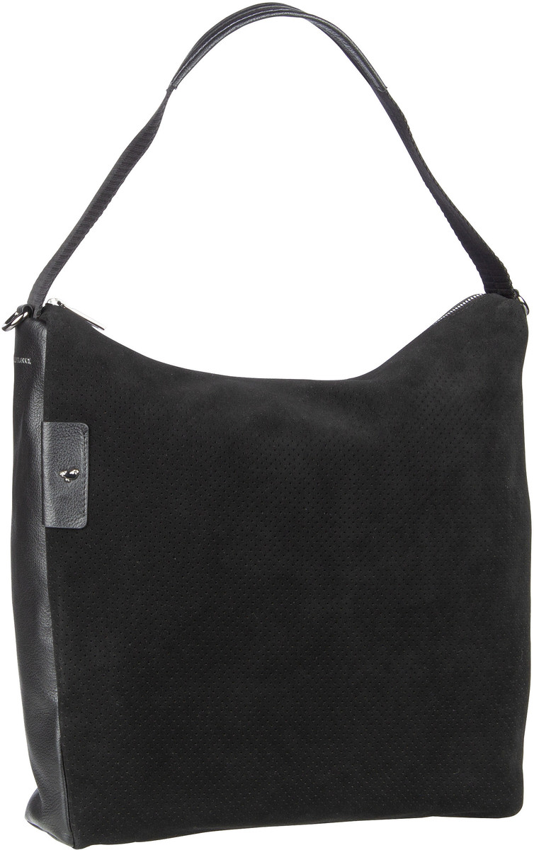 Handtasche Manhattan Medium Hobo UAT95 Black
