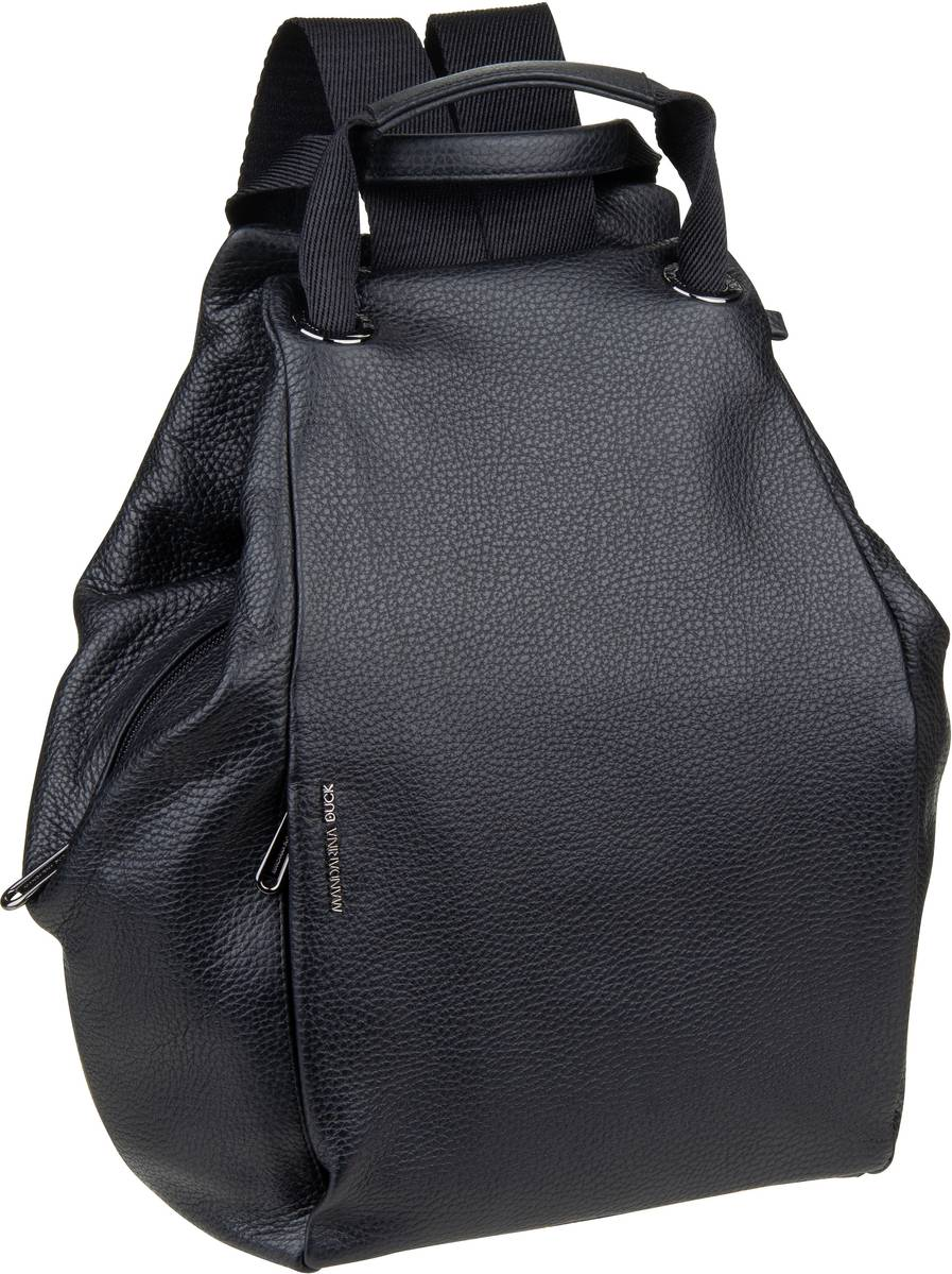 Rucksack / Daypack Mellow Leather Backpack FZT96 Nero