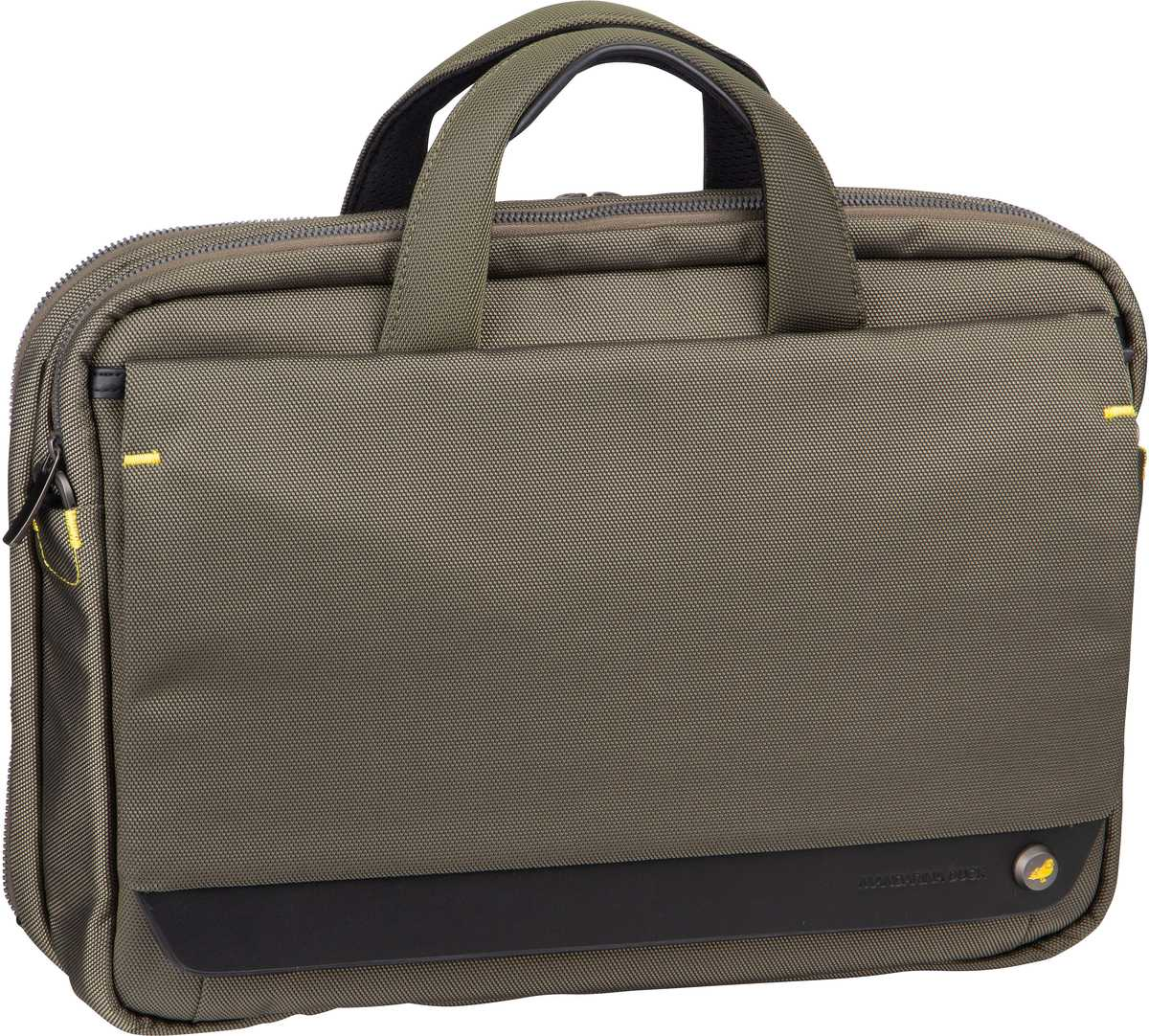 Mandarina Duck Notebooktasche / Tablet Mr. Duck Briefcase STC02 Soldier