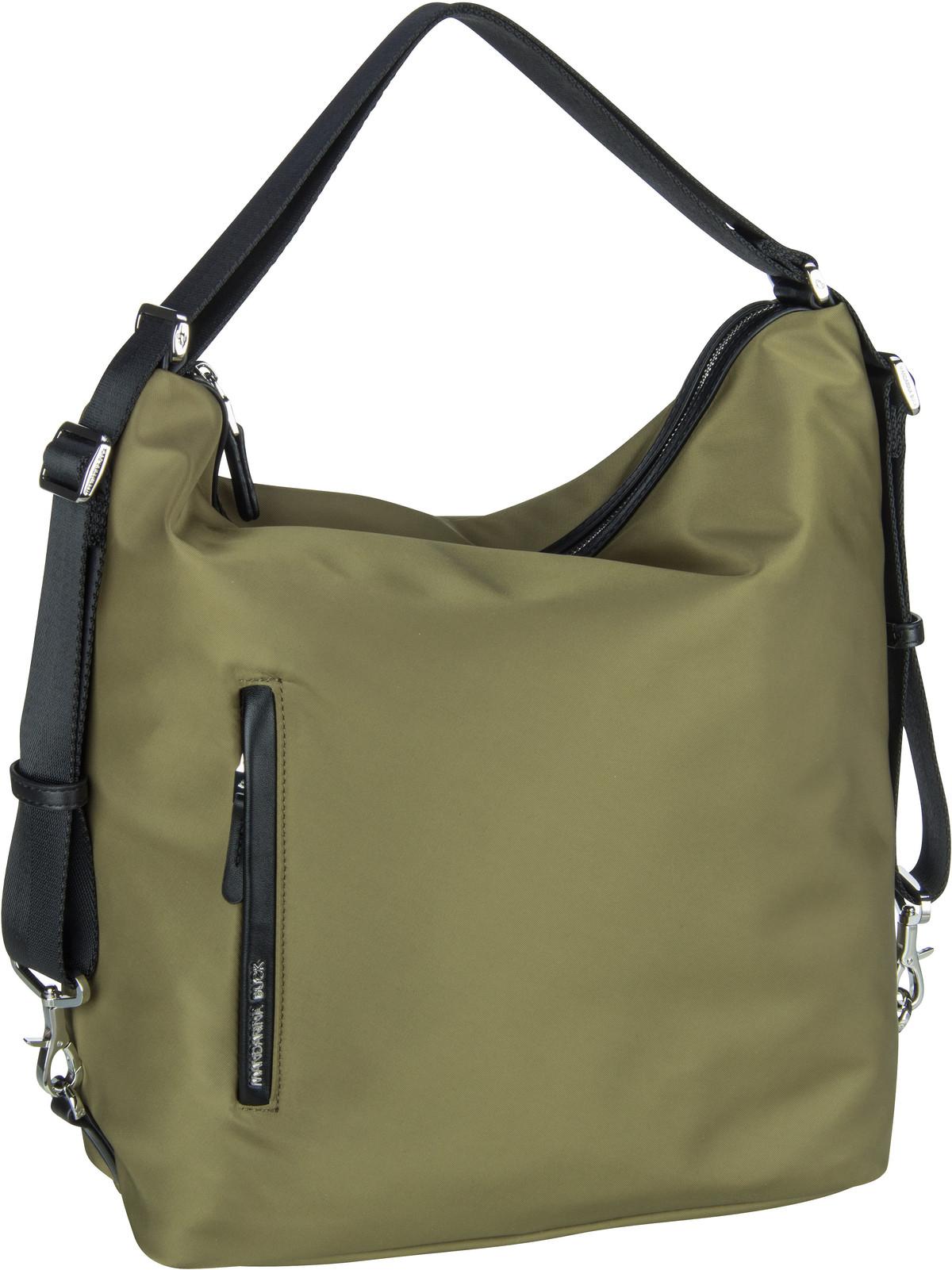 mandarina duck -  Handtasche Hunter Hobo Backpack VCT10 Elmwood