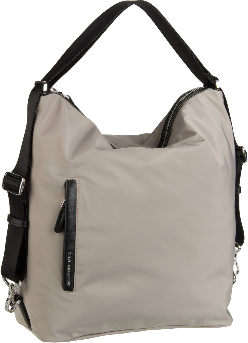 Handtasche Hunter Hobo Backpack VCT10 Simply Taupe