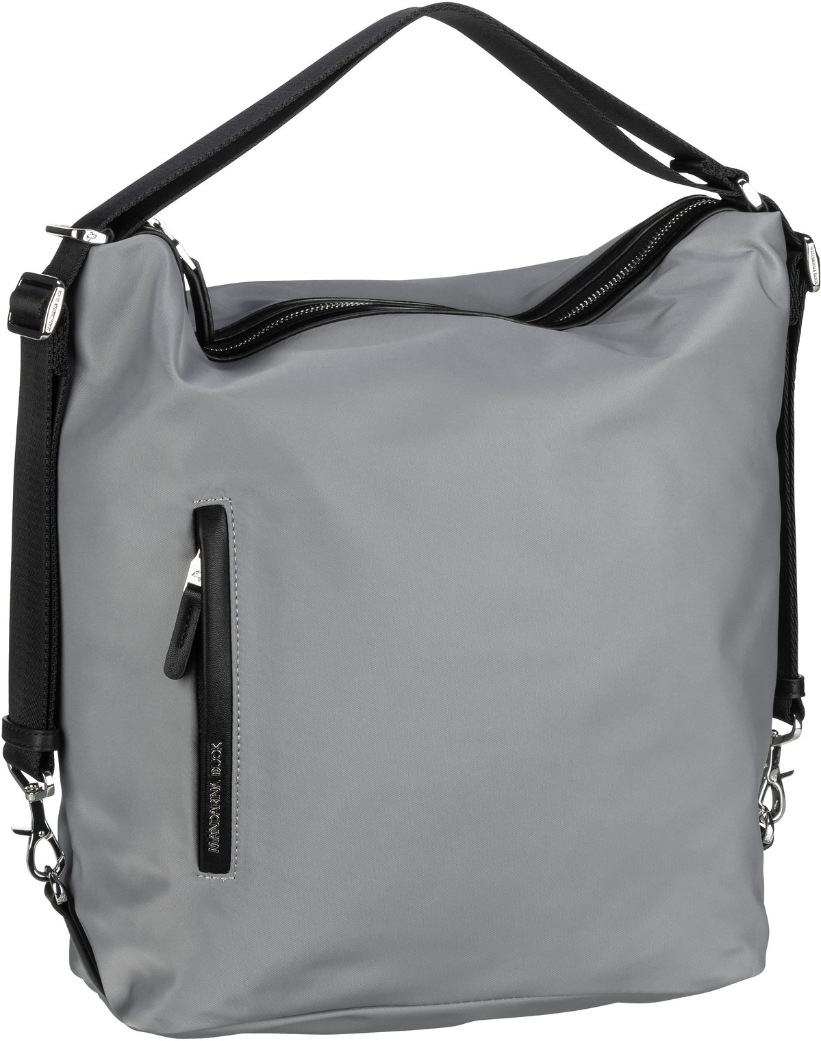 mandarina duck -  Handtasche Hunter Hobo Backpack VCT10 Aluminium