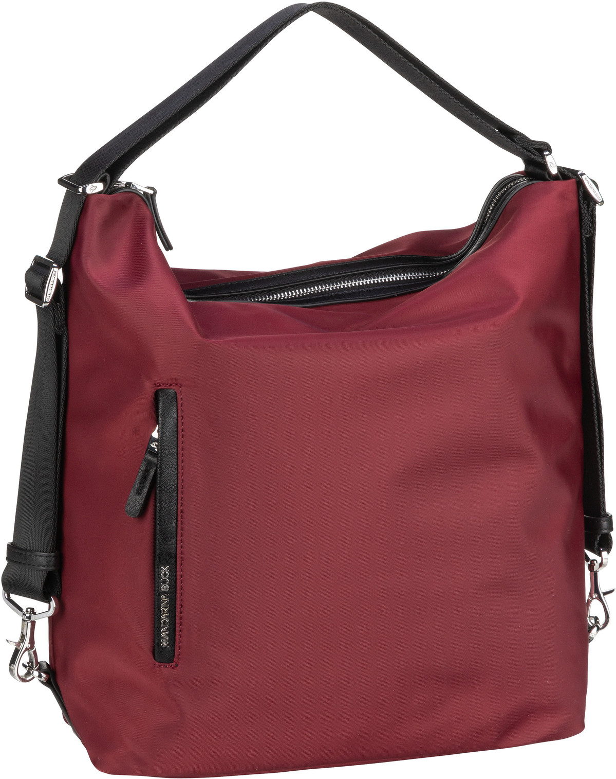 mandarina duck -  Handtasche Hunter Hobo Backpack VCT10 Cabernet