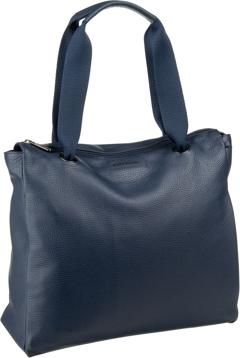 Handtasche Mellow Leather Shopper FZT98 Dress Blue