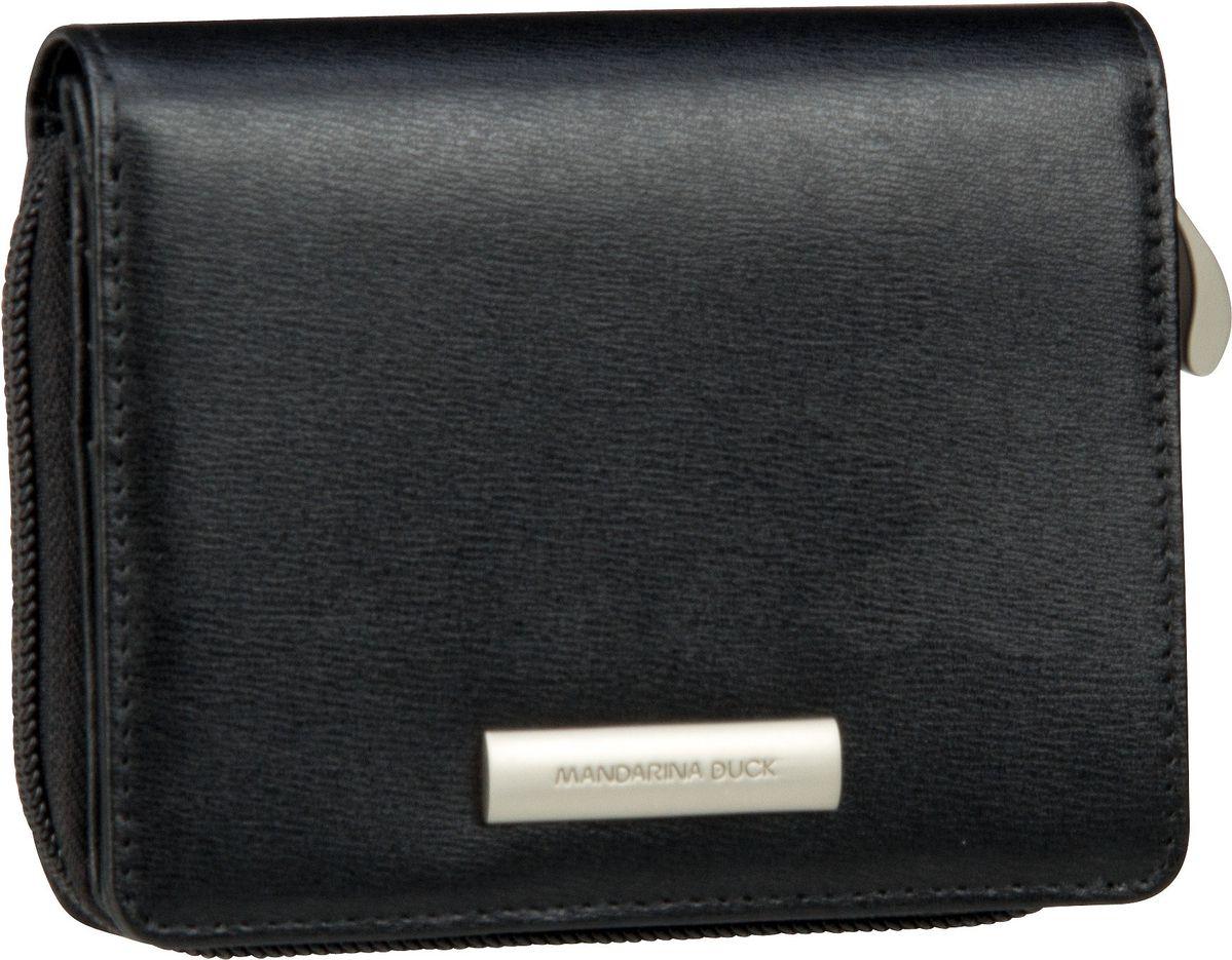 Geldboersen für Frauen - Mandarina Duck Geldbörse Hera 3.0 Wallet RAP20 Nero  - Onlineshop Taschenkaufhaus