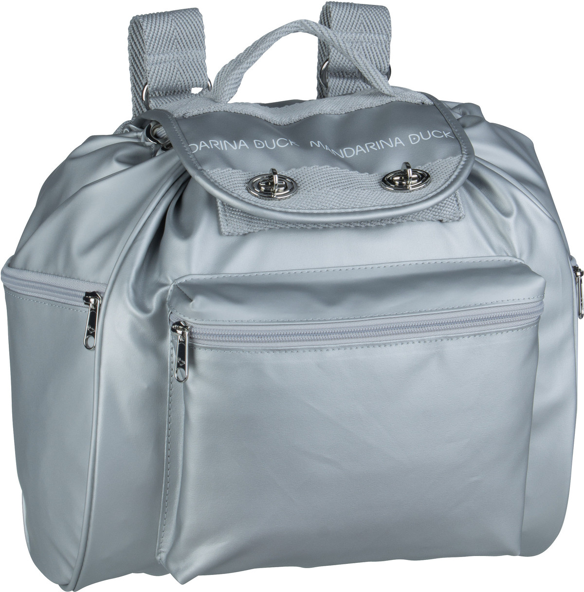 Rucksack / Daypack Utility Backpack UQT01 Silver Metal