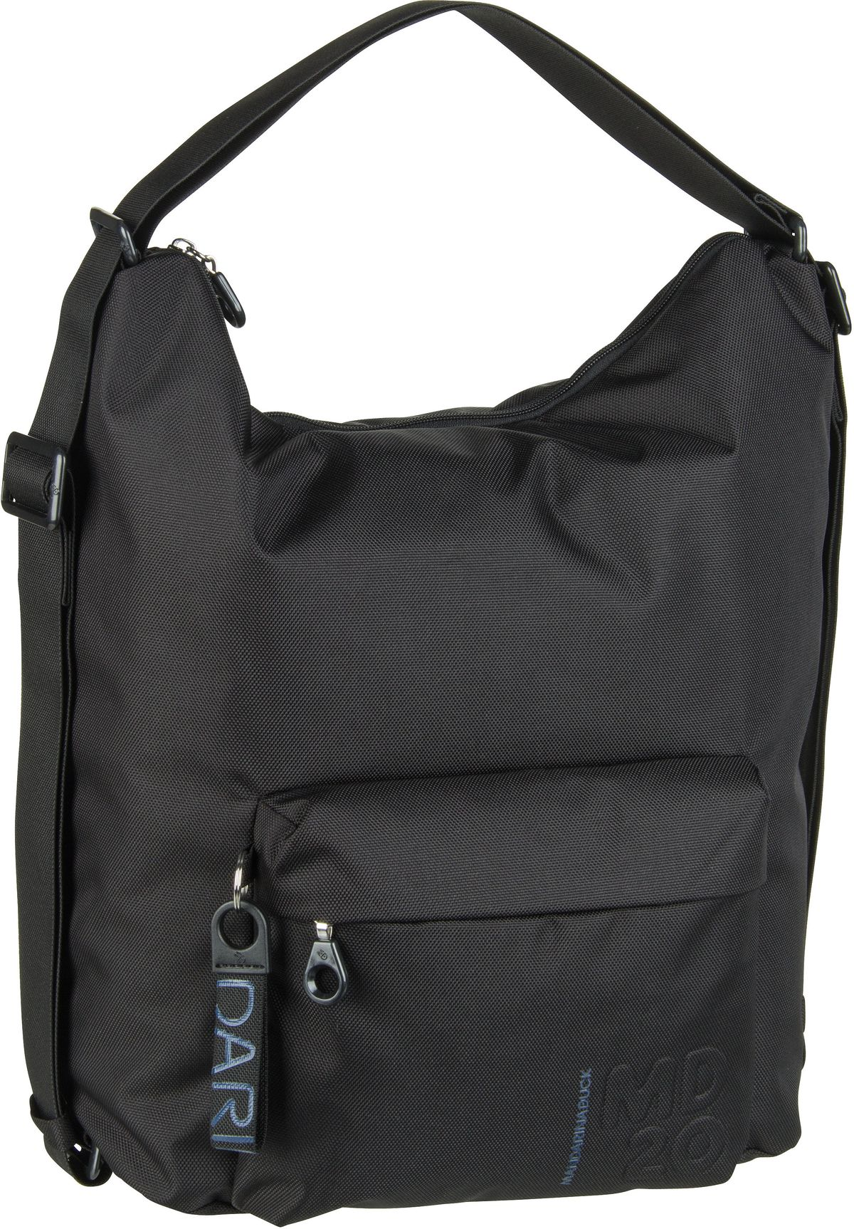 Handtasche MD20 Hobo Backpack QMT09 Black