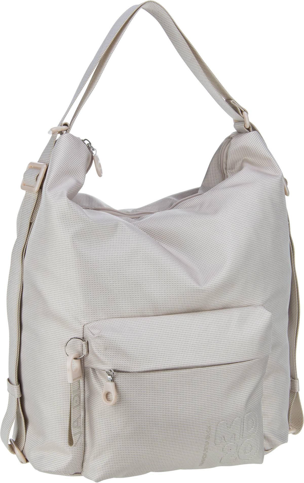 mandarina duck -  Handtasche MD20 Hobo Backpack QMT09 Off White